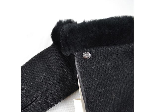 ugg damen handschuhe shorty smart in schwarz gr m neu ebay. Black Bedroom Furniture Sets. Home Design Ideas